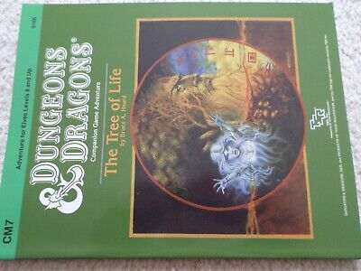 CM7 the Tree of Life  Dungeons & Dragons adventure