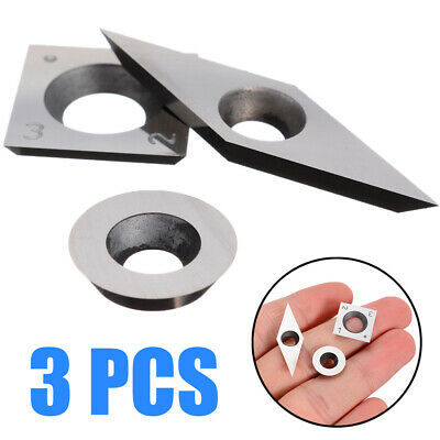 4 Edge Carbide Insert High hardness Cutter 3pcs Woodworking Hand Tools