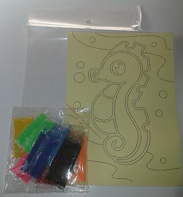 Space Theme Sand Art Kit (6 packs in 6 designs)