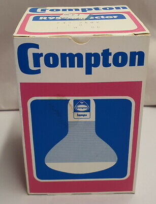 Vintage Crompton Parkinson Light Globe R95 Protector Made in England MIB 1951-70