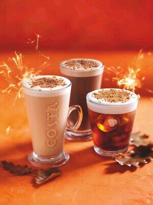 BARGAIN!! Free Costa Coffee Hot or Cold Drink Voucher Coupon Gift Card Discount