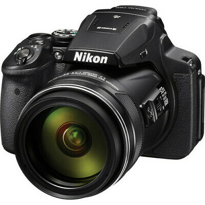 Nikon COOLPIX P900 16MP Digital Camera with 83x Optical Zoom Lens In Black