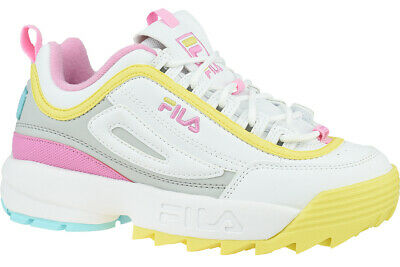 CHAUSSURES FILA DISRUPTOR Cb Low Blanc Homme EUR 70,00