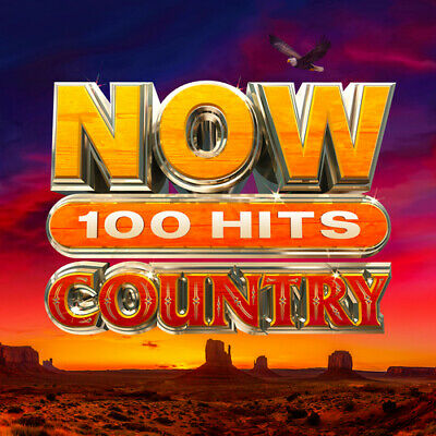 Various Artists : Now 100 Hits: Country CD Box Set 5 discs (2020) ***NEW***