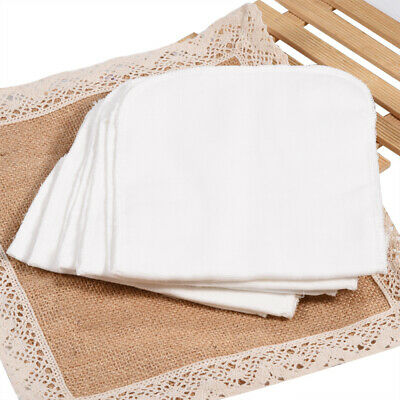 Baby 8Layers Cotton Gauze Insert Liners For Diaper Nappy Changing Pad Reusable