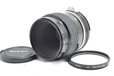 [App Mint but AS IS] Nikon Ai-s Micro-Nikkor 55mm f/2.8 MF Lens from Japan #0357