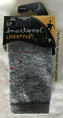 SmartWool Wool Womens Over-the-Knee Socks Parisian Red Heather Lacy Top Sz Snall