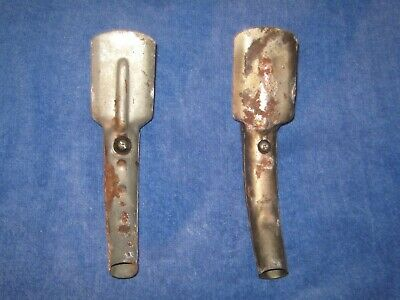 ** LQQK ** TWO Sharp Metal Self Piercing Oil Can Pour Spouts *