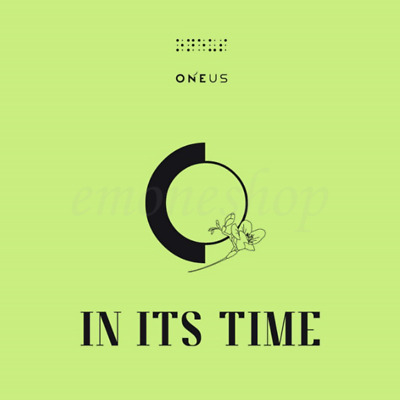 ONEUS [ IN ITS TIME ] 1ST ALBUM PACKAGE CD+Photobook+Poster+Postcard+Photo+etc.