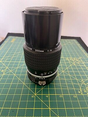 Nikon 200mm F/4 AI Lens in Excellent condition