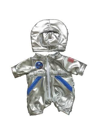 """Astronaut Spaceman Teddy Bear clothes outfit to fit 16"""" build a bear bears"""