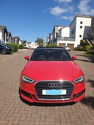 2018 Audi A3 Tfsi S Line Convertible 1.5 Tiptronic Petrol Red - **LOW mileage**