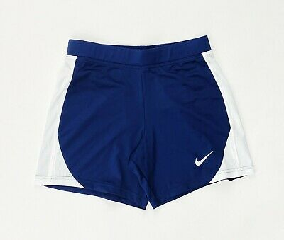Nike Dri-FIT Compression Running Short Youth Girl's Medium Navy Blue 453396