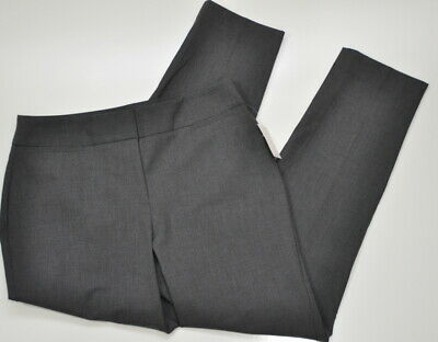 The Limited Collection Size 4 Grey Essentials Ankle Dress Pants Womens Trousers