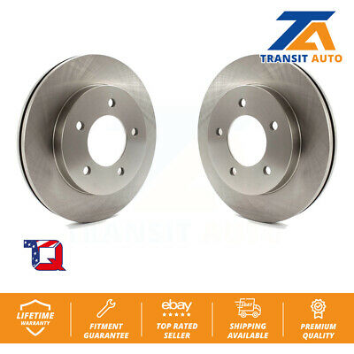 Front Disc Brake Rotors Pair Ford F-150 Heritage
