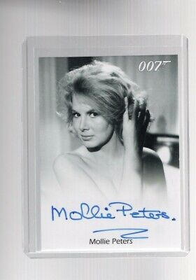 "James Bond Collection SSP Base Card #163 Molly Peters as Patricia /""Pat/"" Fearing"