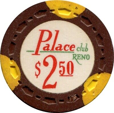 Palace Club, Reno $2.50 Casino chip R7 Very Rare