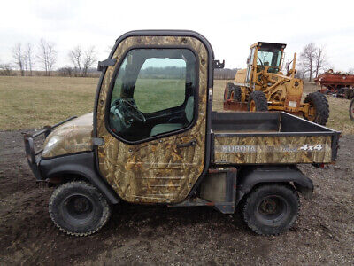 Kubota RTV1100 Utility Vehicle, Cab/Heat/Air, 4WD, Hydraulic Dump Bed, 1,780 Hrs