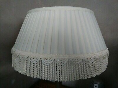 Copper /& Brown Color Bridge Victorian Pleated Fringed Uno Fabric Lamp Shade #777