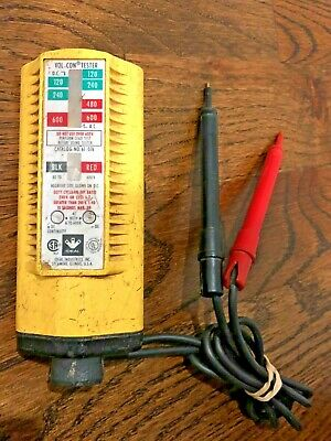 Ideal Vol-Con Electrical Circuit Tester W/ Leads Cat No. 61-076