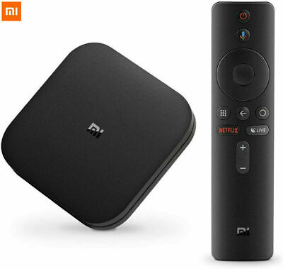 Oroginal Xiaomi TV BOX S Android 8.1 Quad Core 2+8GB 4K WiFi Smart Media Player