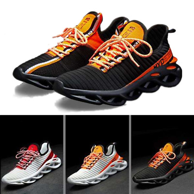 Mens Air Mesh Running Trainers Athletic Walking Gym Casual Shoes Sport Size
