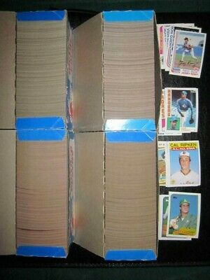 1982 1984 1986 1989 Topps Baseball Vending Boxes (1965 ct)  NM/MT