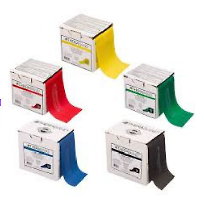 Genuine Theraband resistance band 1.5m Thera-band from Physio latex free US made