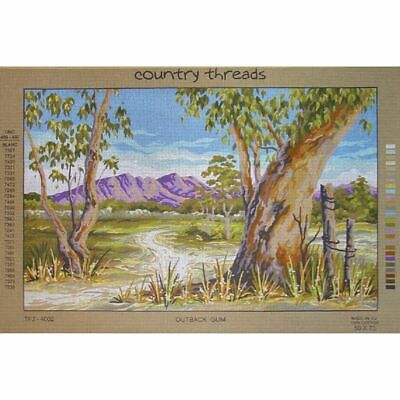 OUTBACK GUM Tapestry Design Printed On Canvas TFJ-4002