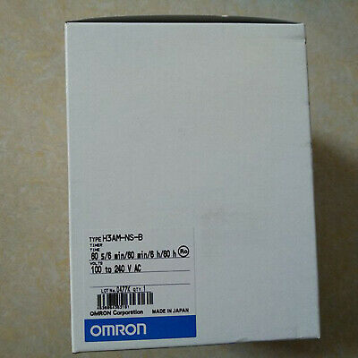 NEW Omron H3AM-NS-B Solid State Timer 100~240VAC 50//60Hz Mechatronic Relay