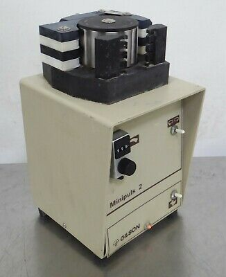 T166681 Gilson Minipuls 2 Peristaltic Pump w/ 4 Channel Head