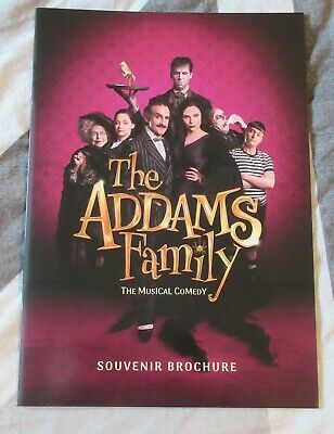 The Addams Family UK Tour Theatre Brochure Carrie Hope Fletcher Sam Womack
