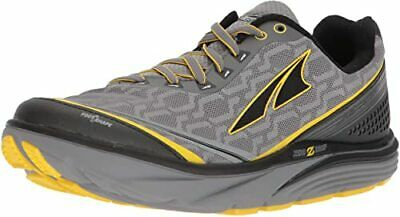 Altra Torin Iq Gray / Yellow Men's Running Shoes - Spring Into Fitness Sale!