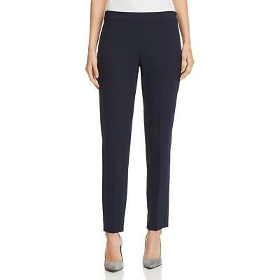 Donna Karan Womens Ankle Mid-Rise Wear to Work Straight Leg Pants BHFO 7261