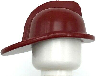 x2 NEW Lego Hats White Minifigure Headgear Baseball Caps FOR CITY BOY or GIRL