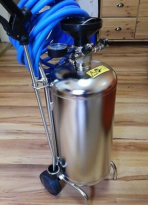 Mobile Schaumgerät Stainless Steel 24 Litre for Pressure Connection! Hose +
