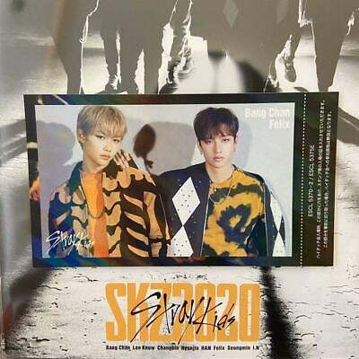 Stray Kids Straykids SKZ2020 Bangchan Felix Photocard Photo card High Touch