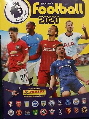 Panini Football 2020 Premier League Stickers - Choose 20 or offers on more.