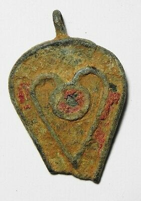 Zurqieh -As17165- Ancient Roman Bronze Seal Box Cover. 200 - 300 A.d