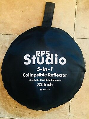 Rps Studio 5-In-1 Collapsible Reflector Silver-White-Black-Gold-Translucent