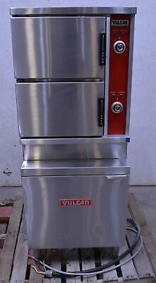 Vulcan-Hart VSX24E 10-Pan Commercial Electric Convection Steamer 480V 3Ph