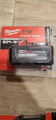 NEW Milwaukee M18 6ah Red Lithium High Output XC 6.0 Battery New and sealed