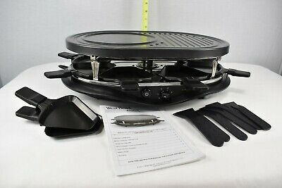 West Bend Raclette Grill 6130 Entertainment Series Party Grill