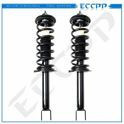 For 2008-2012 Honda Accord 2 Rear Quick Complete Struts Coil Springs