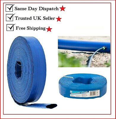 High Quality Water Pump Lay Flat DISCHARGE DELIVERY HOSE PIPE 10m x 25mm