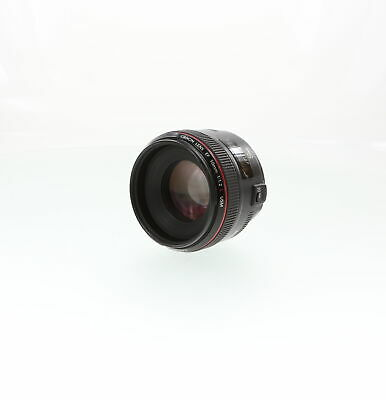 Canon 50mm F/1.2 L USM EF Mount Lens {72} With Case and Caps *BG*