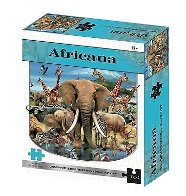 Africana Kidicraft 2D Puzzles Howard Robinson Series 1000 Pieces