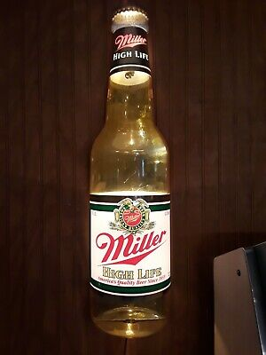 Miller High Life Bottle Light
