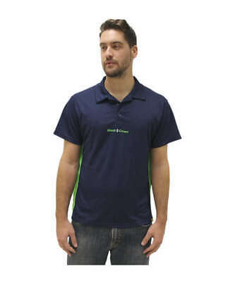 TEXTIL - POLO BLACK CROWN WIN AZUL MARINO - talla S, M, L, XL, XXL