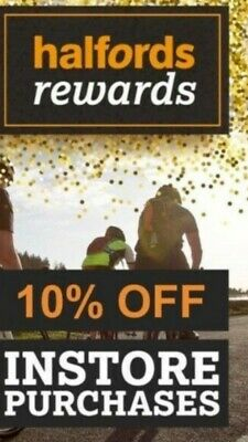 Halfords voucher  - 10% OFF Instore, can be used on  Cycle Republic as well